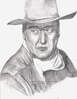 John Wayne by Orangeandbluecream