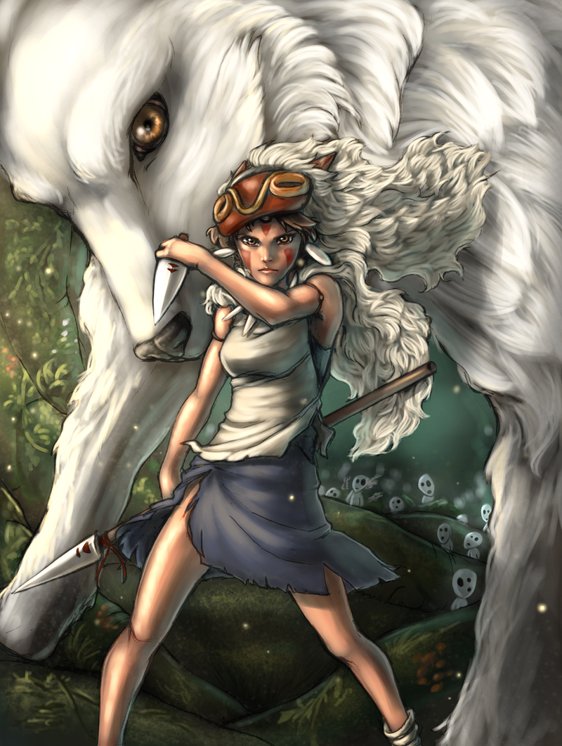 Princess Mononoke by SparkOut1911 on DeviantArt