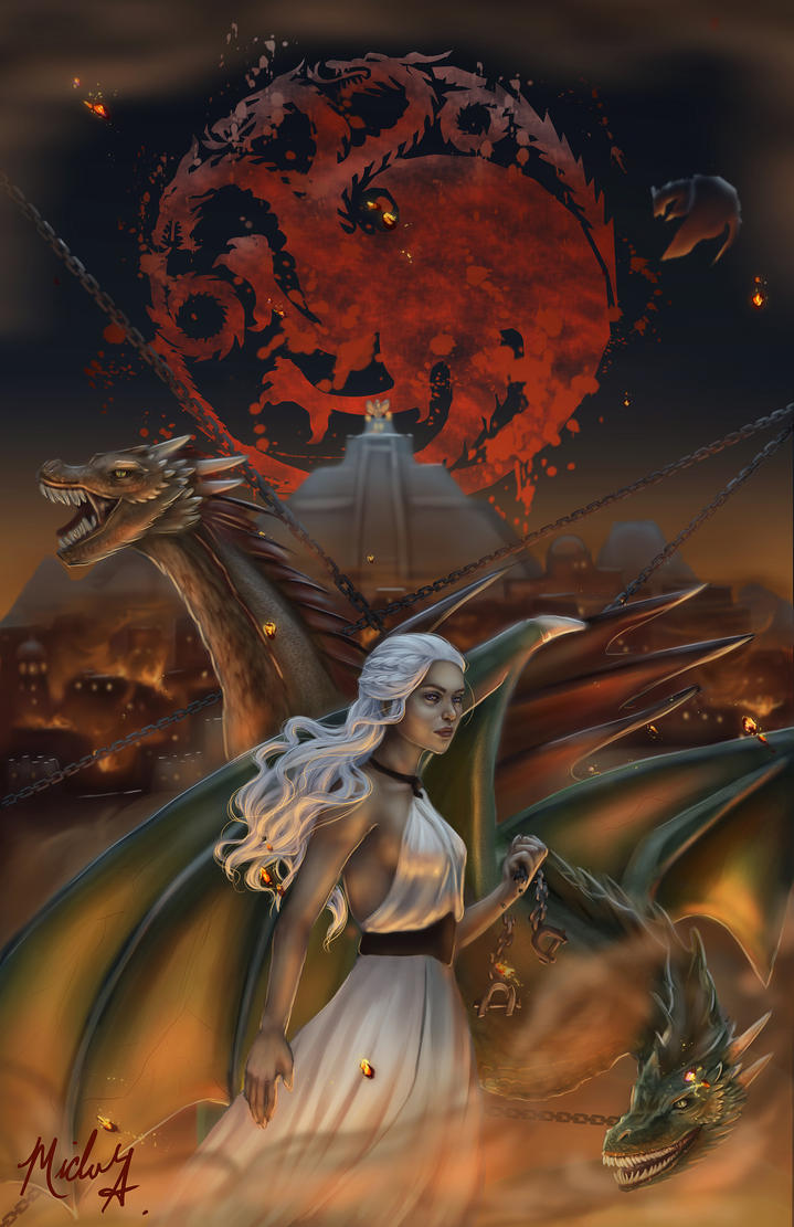 Seige of Meereen by SparkOut1911