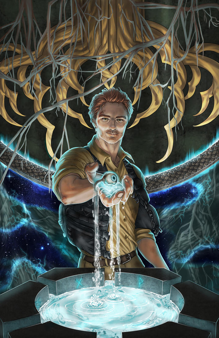 Oliver Lucas: The Eye of Odin by SparkOut1911