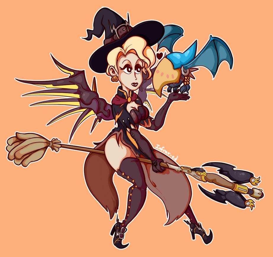 Witch Mercy by Ed-Ramos