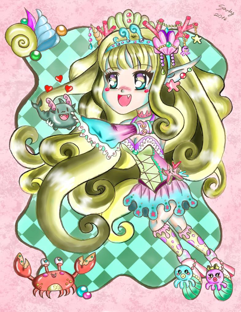 Aqua cutie by Azuma-Sandy