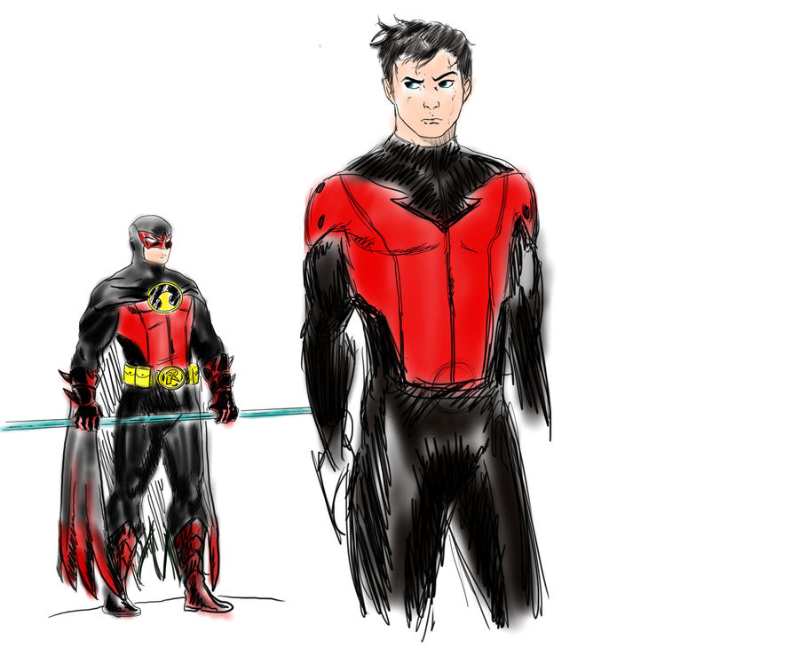 Red Robin Redesign by Raius1