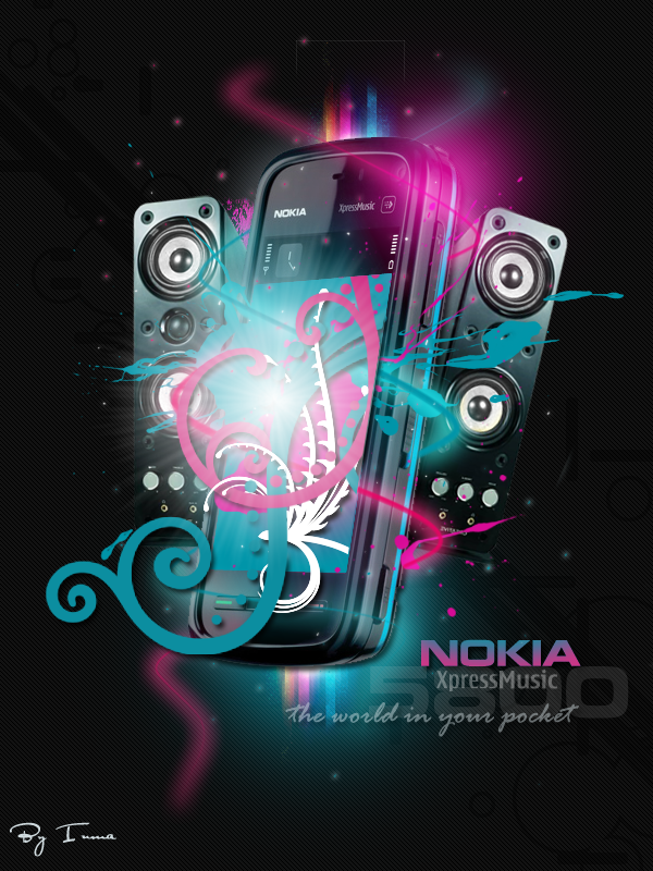 Nokia XpressMusic 5800 by inmany