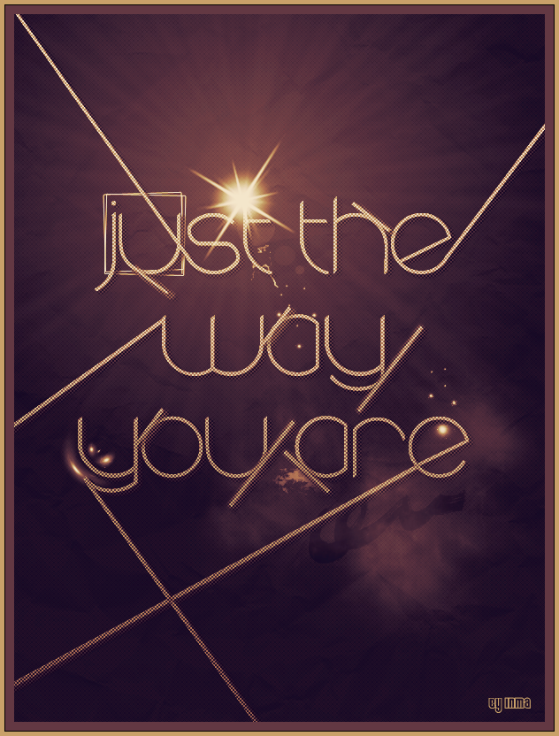 Just the way you are by inmany on deviantart