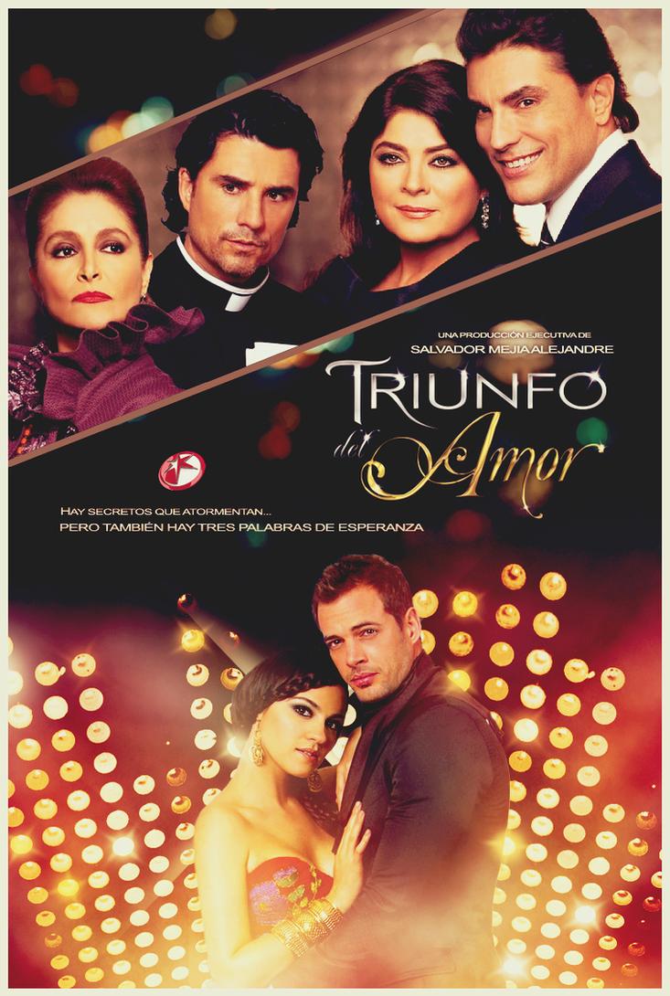 Novela Triunfo Del Amor Triunfo Del Amor Poster by