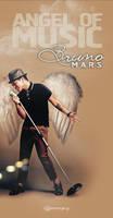 Bruno Mars Angel. Twitter Background