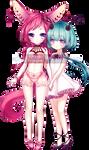 [C] Hannibaru_Aiya and Eri