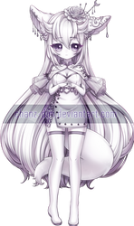 [C] Rinuii_Gardenia 2/2 by Chanz-diri