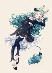[C] Hannibaru_Ophelia by Chanz-diri