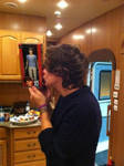 Harry Kissing The Louis Doll!