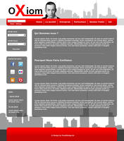 Website Oxiom by twisted355