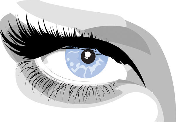 eye vector by sticky-vicky