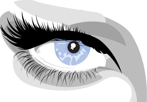 eye vector by sticky-vicky
