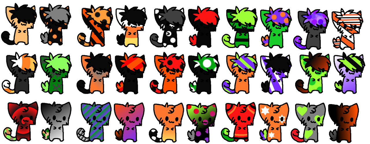 (Closed) Halloween Kitties Adopt by Starlight1196