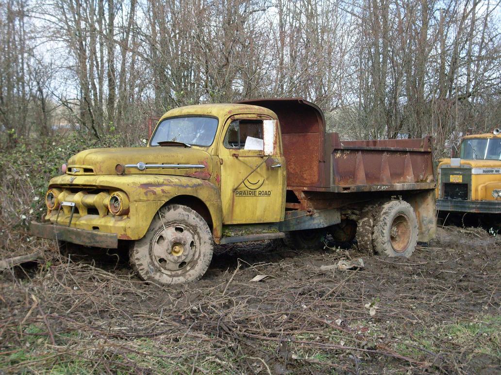 1952 Ford F-6 Dump Truck by Pb1kenobi on DeviantArt