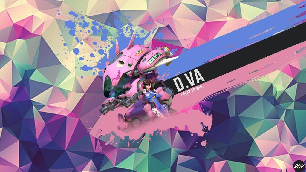 Overwatch D.VA Wallpaper by Nvaderpt on DeviantArt