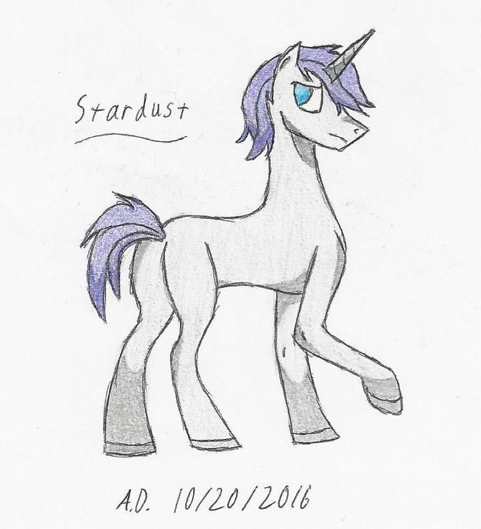 Character: Stardust by AmethystDraft