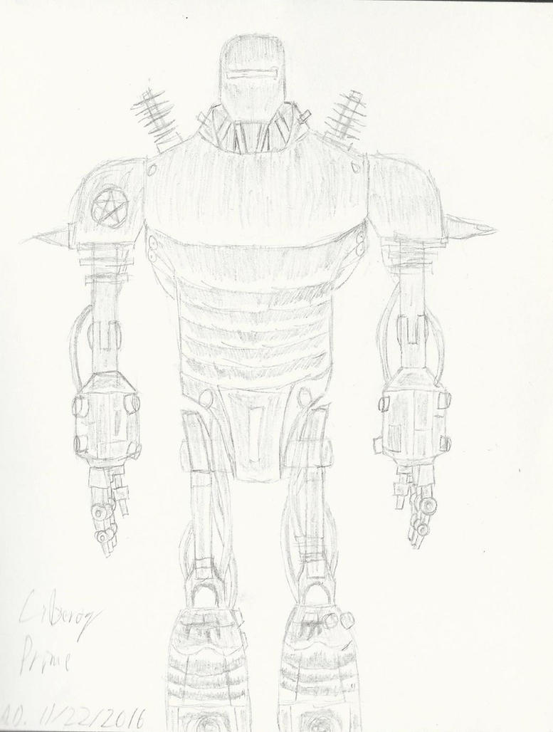 Liberty Prime by AmethystDraft