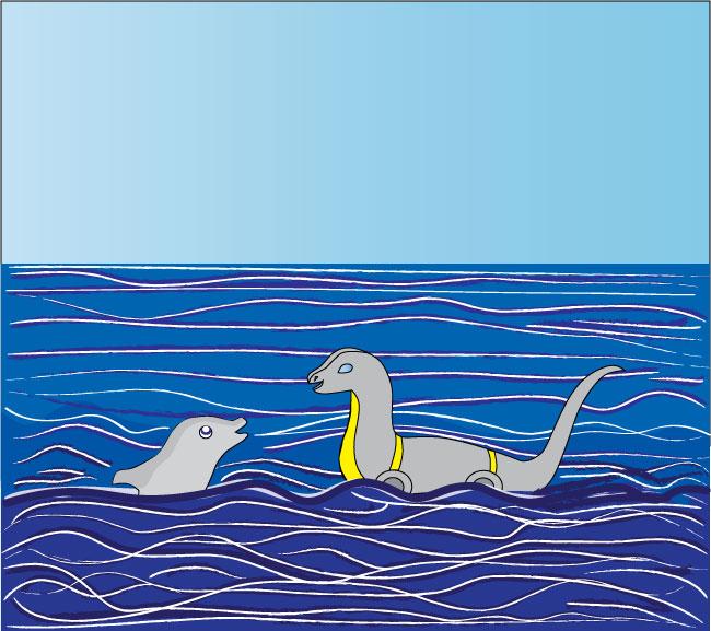 Paddles at Sea by srg1
