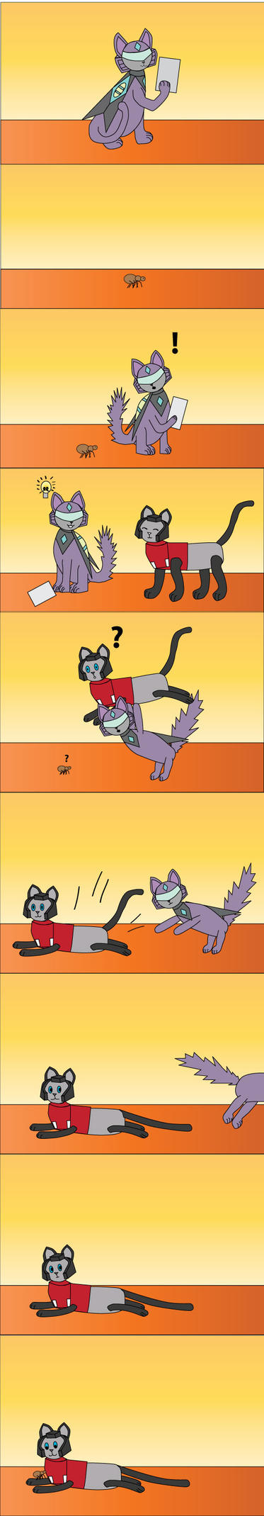 Blitzangel comic by srg1