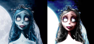 the corpse bride is alive XD