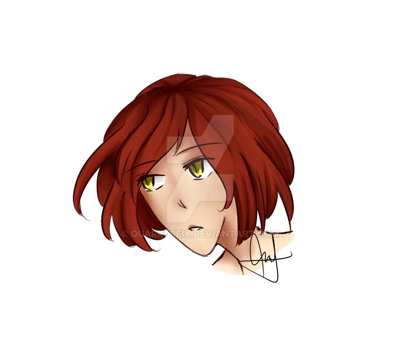 Hair coloring practice(?) by Quarrtreix