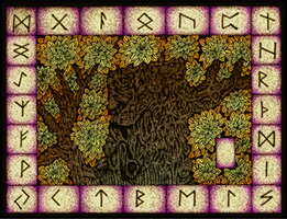 The Runes - Colored
