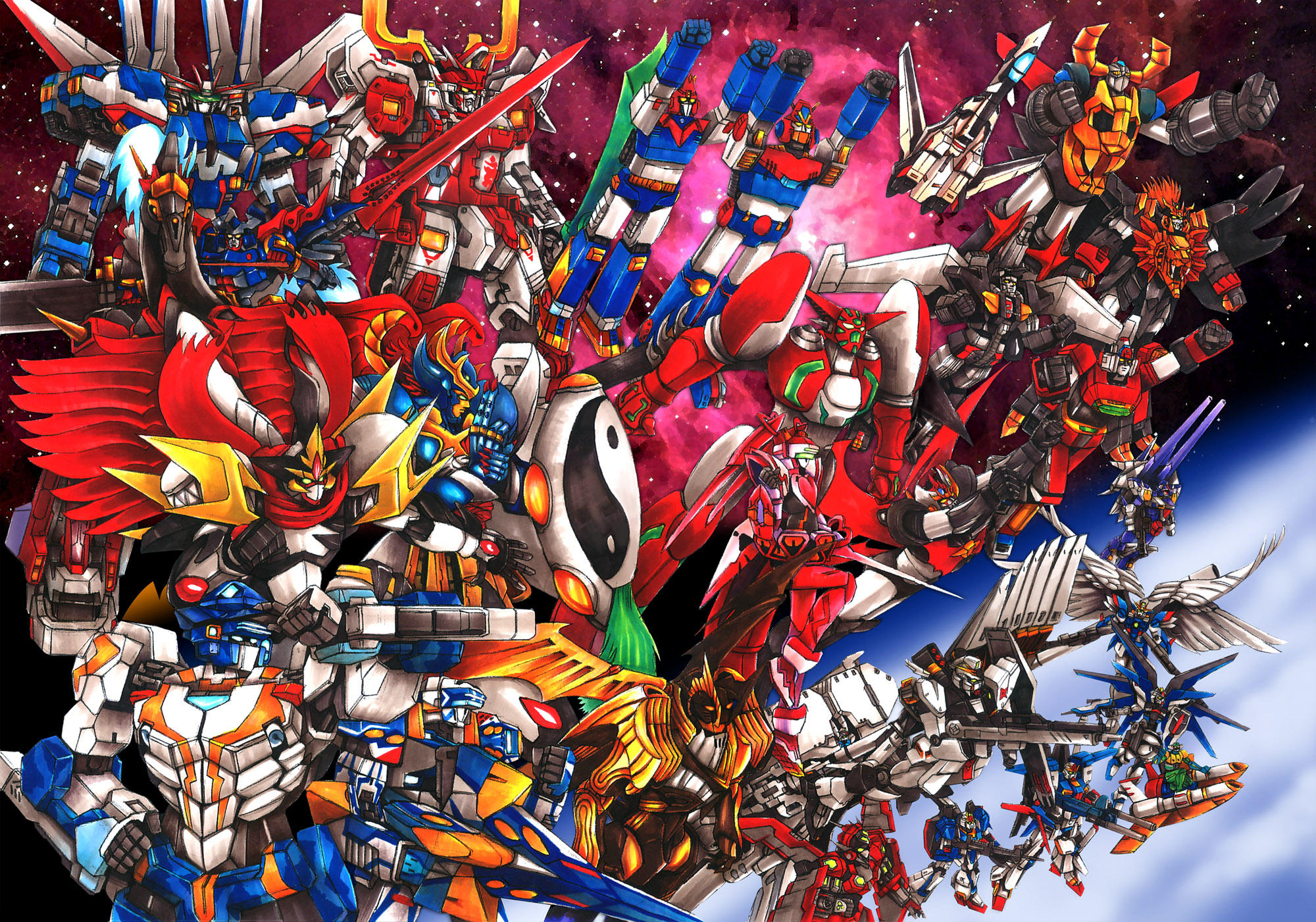 Arrivano in blu ray e dvd i super robot movie