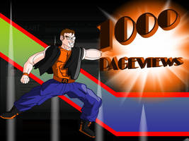 1000 Pageviews by Yholl