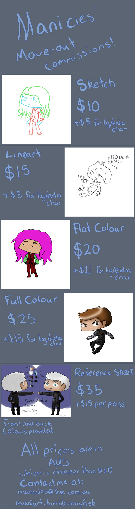Comission Information by Manicies