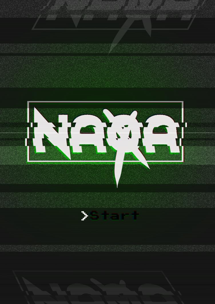 NAoA retro start screen by SheYuki