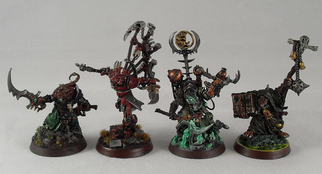 Skaven Characters