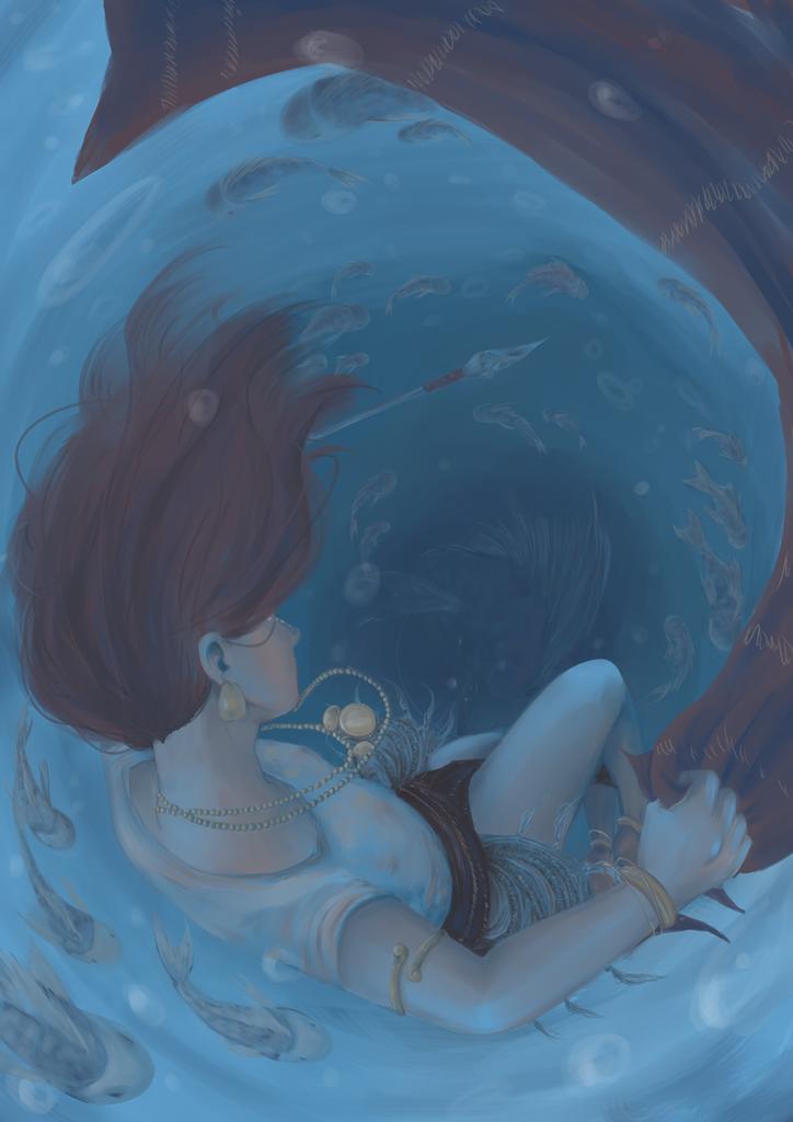 Something in the Water by halfwitwonder