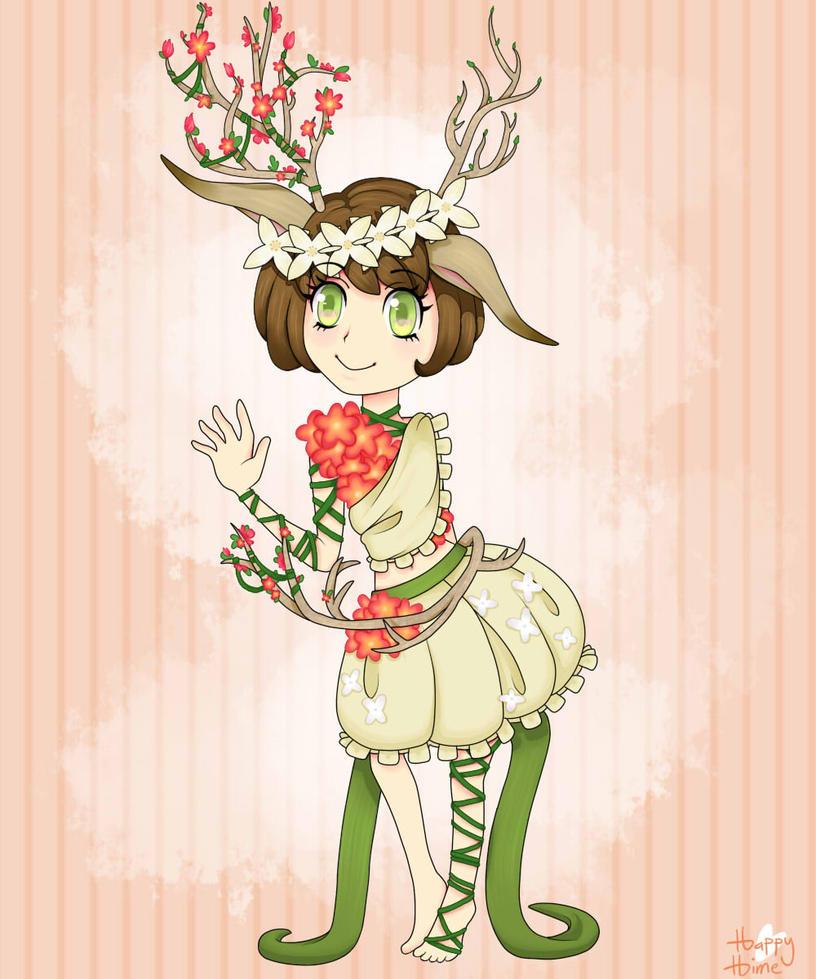 OC: Zinnia by HappyHimiko