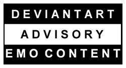 Warning Emo Content by Biking-Rab
