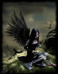 Fallen Angel by AvalonSparkles