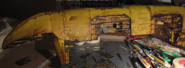 Papercraft Amarr Apocalypse by pupumonkey