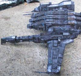 Caldari Kestrel paper model