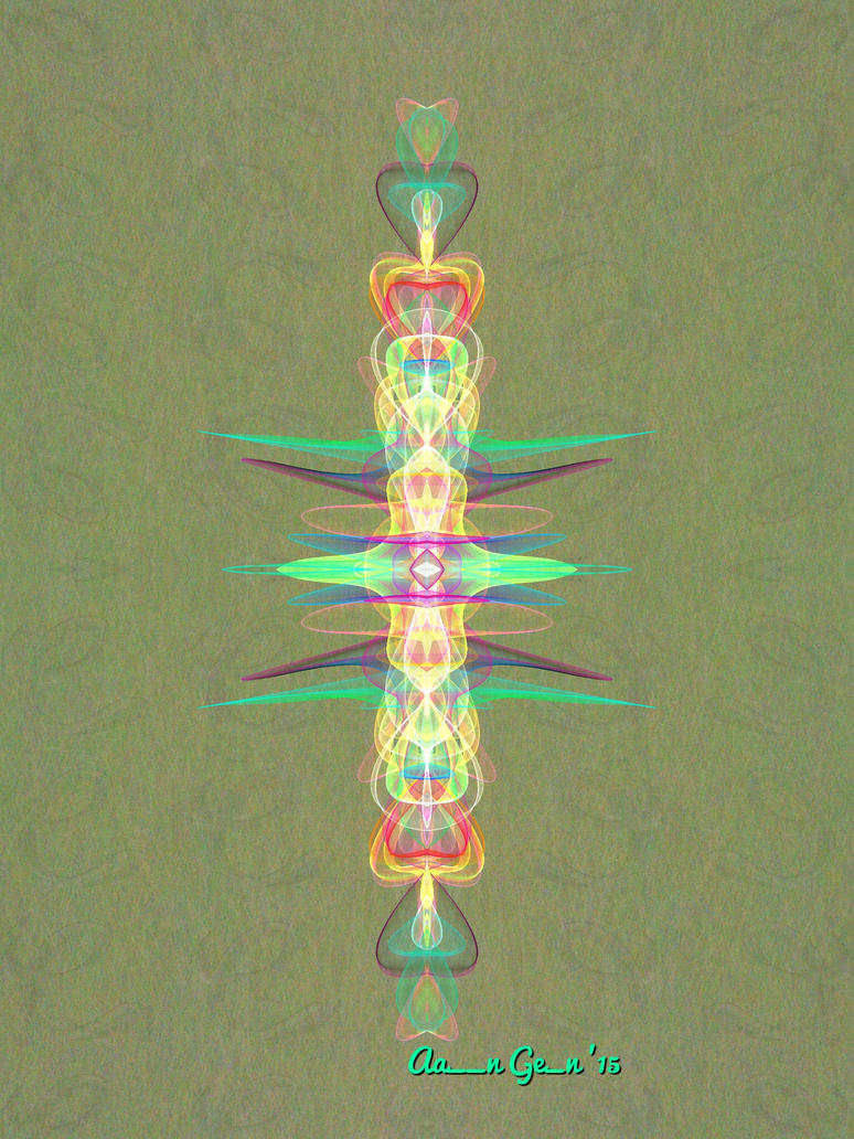 Abstract Totem by artistaaron28