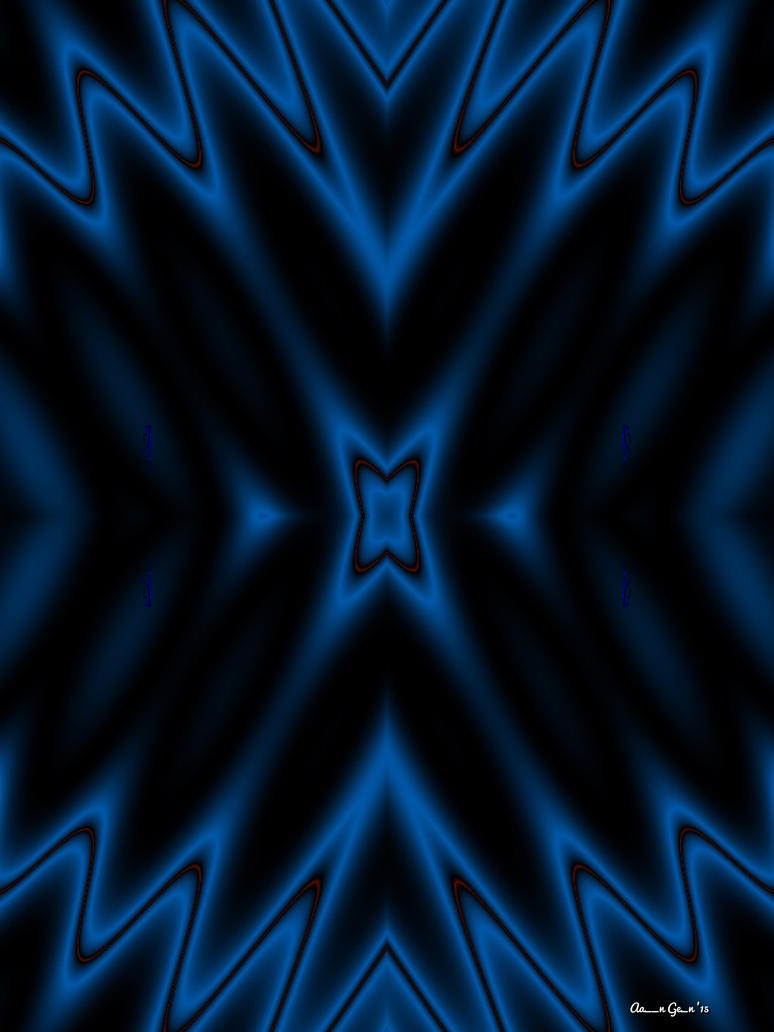 Blue Waves by artistaaron28