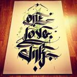 OneLoveInk by desan21