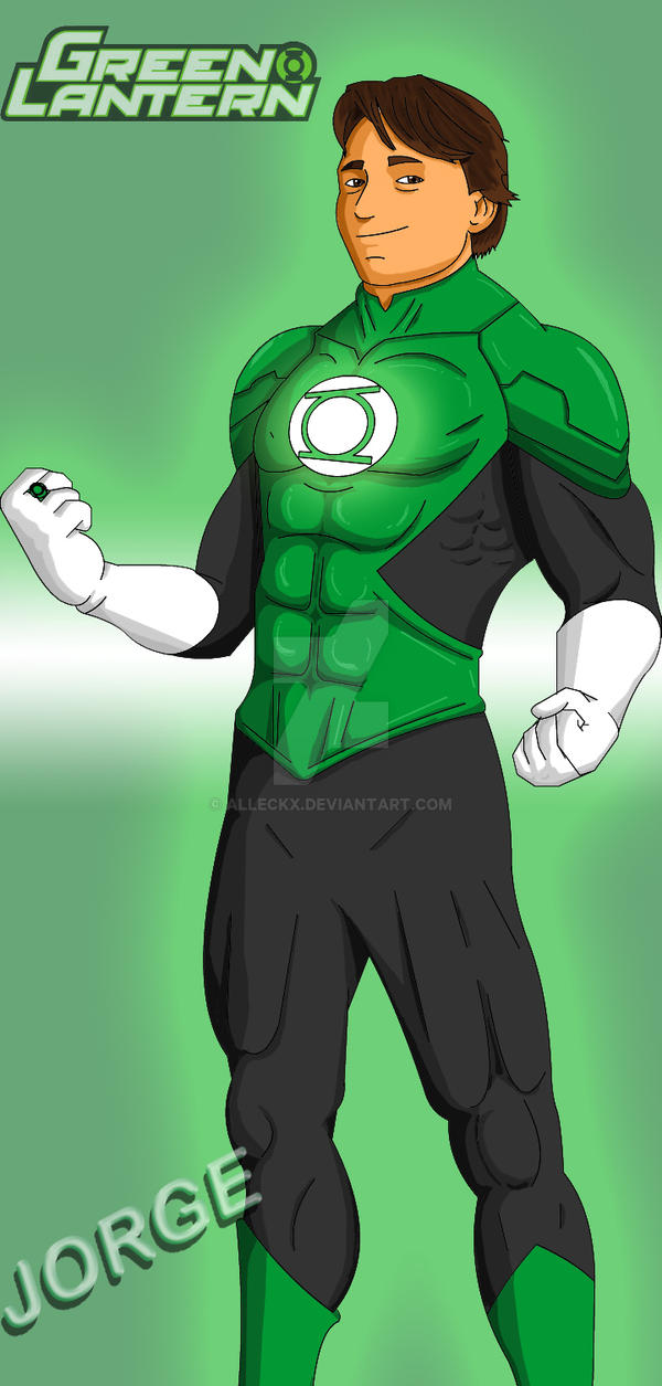 Jorge new green lantern by alleckx