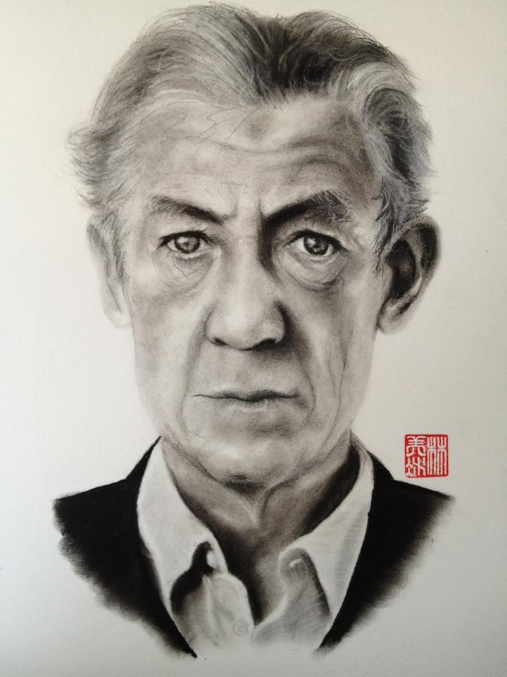 Sir Ian McKellen by 4mLs
