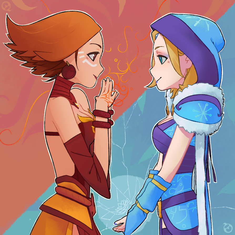 Rylai and the Slayer by corrupted-azero