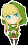 The Legend of Zelda - Linkle Chibi