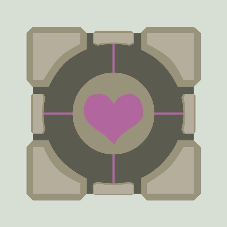 companion cube by leonhart4