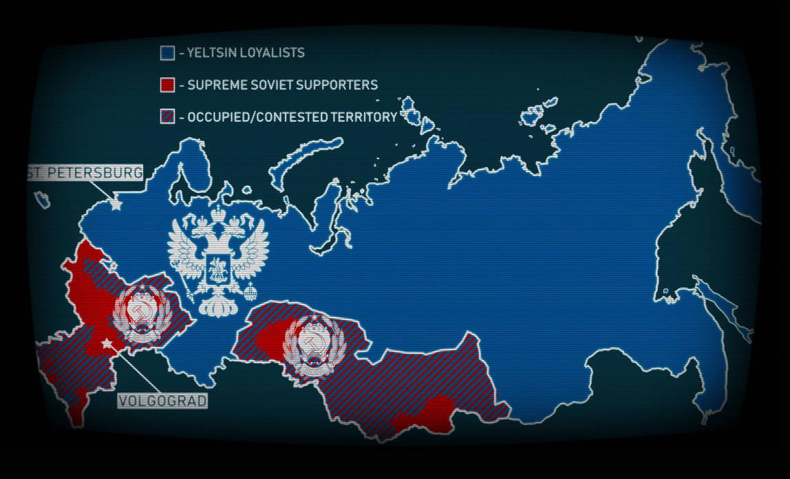 2nd Russian Civil War Map Remake by FilipTheCzechGopnik on DeviantArt