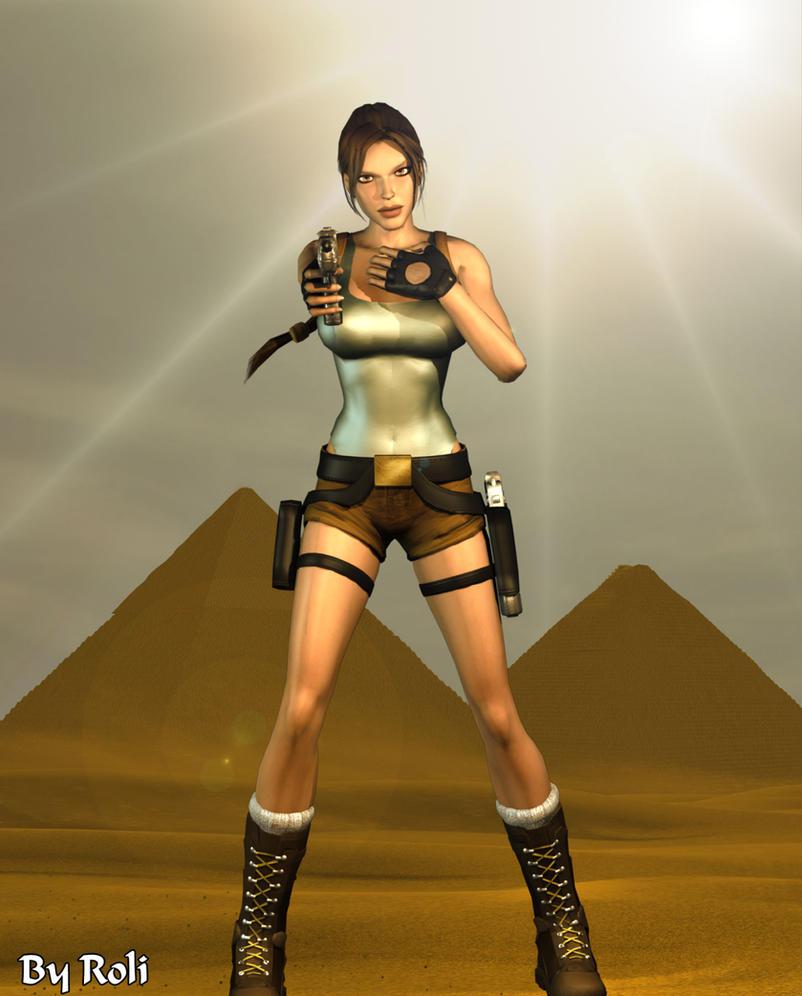 3d Tomb Raider Wallpaper: Last Revelation By Roli29 On DeviantArt