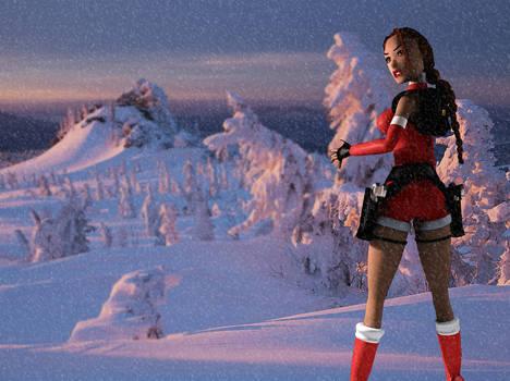 Lara Croft - Ready for Christmas